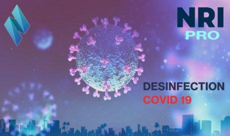 NRI PRO- services de désinfection spécifiqueCOVID-19